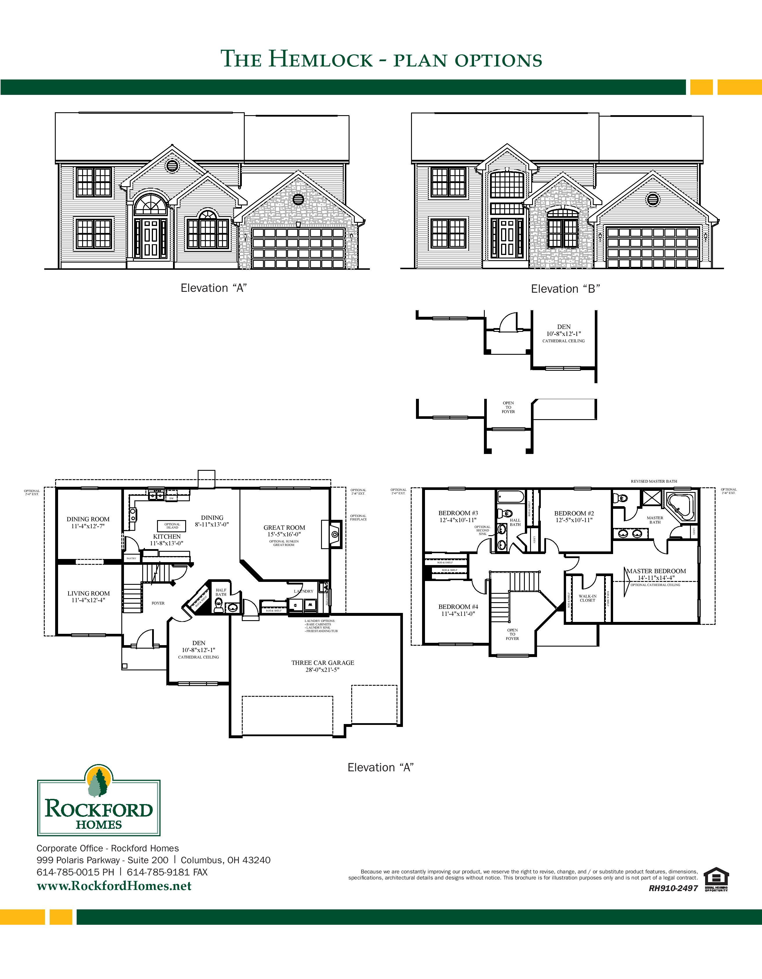 Build Your Home Reference ID RFN29 – Rockford Homes Floor Plans