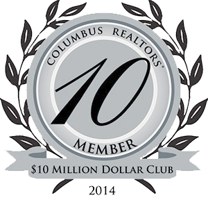 Columbus Realtors 10 Million Dollar Club Member 2014